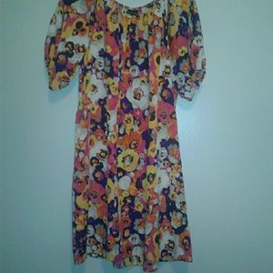 Attention floral dress  sz.XL NWT